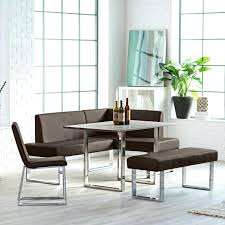 l shaped dining table corner dining table modern l shaped dining bench with chrome corner