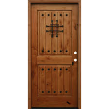 Home Depot 6 Panel Interior Door Wood Doors Front Doors The Home Depot