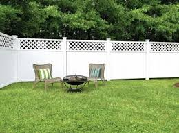 Types Of Backyard Fencing Vinyl Fence Vinyl Fencing Styles Freedom Outdoor Living For Lowes