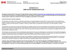 service canada transition plans canadian immigration law blog