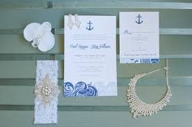 Nautical Wedding Programs Nautical Themed Wedding At St Pete Beach