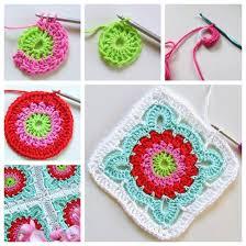 Crochet Designs Flowers Perfectly Pretty Diy Crochet Flower Blanket Crochet Flowers