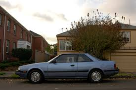 old parked cars 1985 mazda 626 coupe