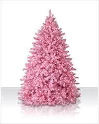 4 ft powder pink prelit tree with clear lights christmas tree market