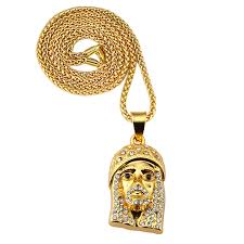 aliexpress buy nyuk gold rings bling gem nyuk men s jewelry iced out bling jesus gold color pendant