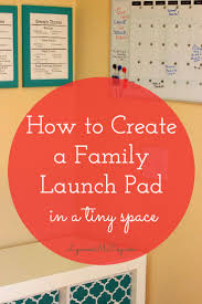 how to create a launch pad in a small space