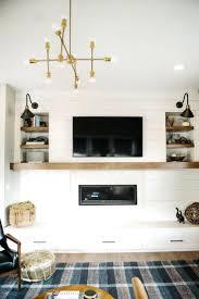 tv over fireplace mantel designs modern above design ideas beside