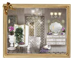 Glam Home Decor Hollywood Glam Bathroom Luxe Hollywood Glam Mirrored Bathroom