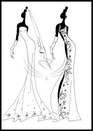 fashion design coloring pages fashion design evening gown by elro66 on deviantart