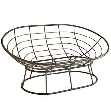 outdoor mocha double papasan chair frame pier 1 imports