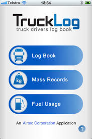 trucklog truck drivers log book for ios free download and