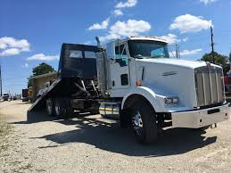 all kenworth trucks used 2007 kenworth t800b rollback truck for sale in ms 6656