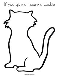 if you give a mouse a cookie coloring pages free kids coloring