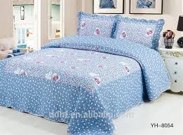 Patchwork Duvet Sets Rose Heart In Shining Blue Patchwork Bedding Sets Patchwork