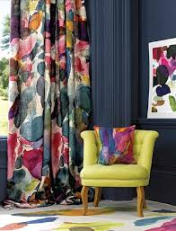 Colorful Patterned Curtains Colorful Patterned Curtains Decor Mellanie Design