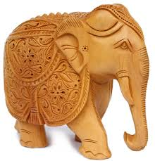 amazon com precious gifts 8 inch elephant decor statue hand