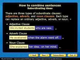 combining sentences when is it a good idea to combine sentences
