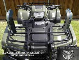 honda rancher and honda rincon and honda foreman snorkel kit