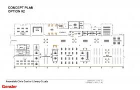 avoice civic center library study issue