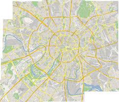 Moscow Map Making Maps Maximizing Rockmost