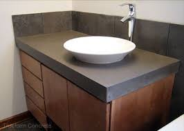 bathroom vanity countertop ideas the 25 best diy concrete vanity top ideas on concrete
