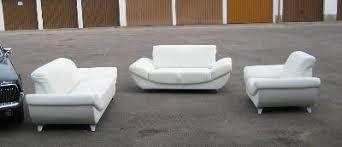 sofa garnitur 3 teilig 3 teilige weiße sofa garnitur aus kunstleder dachau markt de