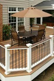 patio u0026 outdoor interesting backyard deck with coastal cedar
