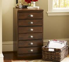 File Cabinet With Drawers Printer U0027s 2 Drawer File Cabinet Pottery Barn