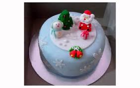 christmas cake decoration youtube