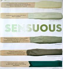 the color issue sensuous greens