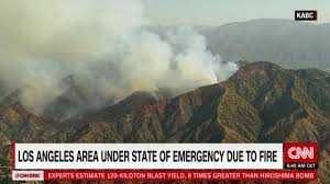 Wildfire La Area by Los Angeles Wildfires 1 000 Firefighters Tackle Largest Blaze In
