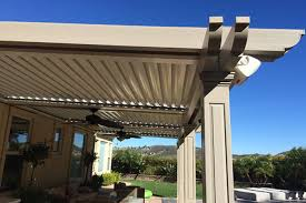 Louvered Patio Roof Motorized Retractable Awnings Expand Your Outdoor Living Space