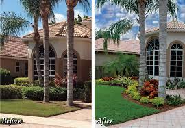 Landscape House Curb Appeal In Boca Raton Landscape Design Pamela Crawford