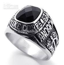 black stone rings images 2018 fashion men punk rings 316l stainless steel black stone men jpg