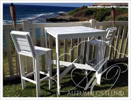 Outdoor Bistro Table Ana White Outdoor Bistro Table And Tall Backed Stools Diy Projects