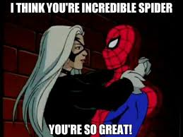 Spider Man Meme - black cat x spider man meme by jqroxks21 on deviantart