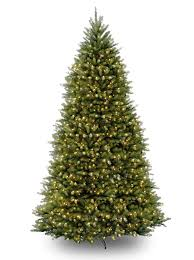 12ft pre lit dunhill fir artificial tree garden
