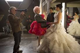 come check out these exclusive behind the scenes hunger games