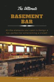 the 25 best rustic basement bar ideas on pinterest rustic bars