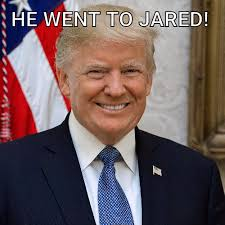 he went to jared meme meme rewards