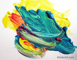 mouse painting color mixing u2013 kinderart