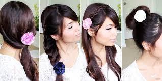 tutorial rambut wanita cara menata rambut cantik dan simpel untuk berlebaran nanti loop co id