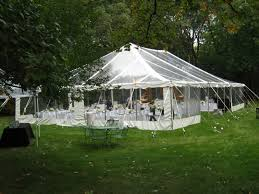 clear wedding tent tenting indestructo tent rental inc