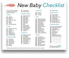 baby shower registries printable baby checklist click here for a printable baby
