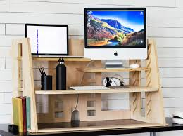 affordable sit stand desk a revolutionary sit to stand desk beautifully designed to be the