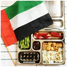 Colors Of Uae Flag Letsmakelunchfun Box With The Colors Of The Uae Flag Cuddles And