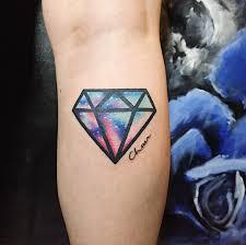 Tattoo Ideas For Girlfriend 75 Best Diamond Tattoo Designs U0026 Meanings Treasure For You 2017