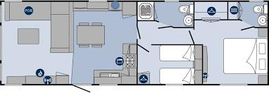 Static Caravan Floor Plan Elegance Regal Holiday Homes