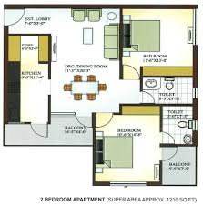 2 room flat floor plan 2 bedroom apartment design plans interior design
