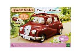 sylvanian families family saloon car jac in a box